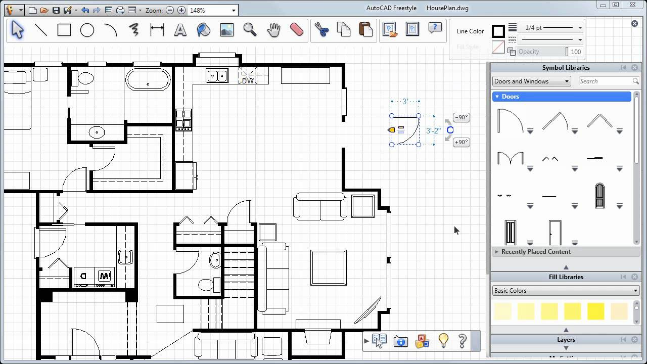 Cad software bilaashka ah ee windows Free drafting software for windows 10