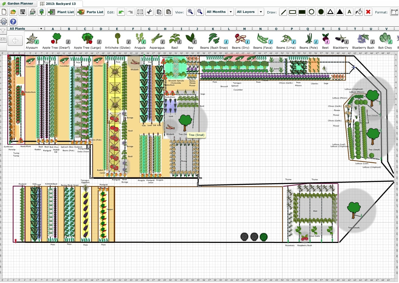 Free landscape design software for windows for Planning my garden layout