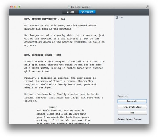 screenplay writing software mac (prweb) october 16, 2017 official release of script studio® creative writing software of script studio® creative writing software – an innovative mac.