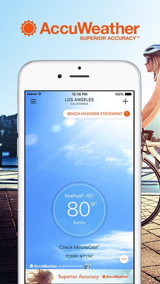 Best Free Weather apps for IOS