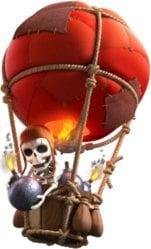 ballon - clash of clans