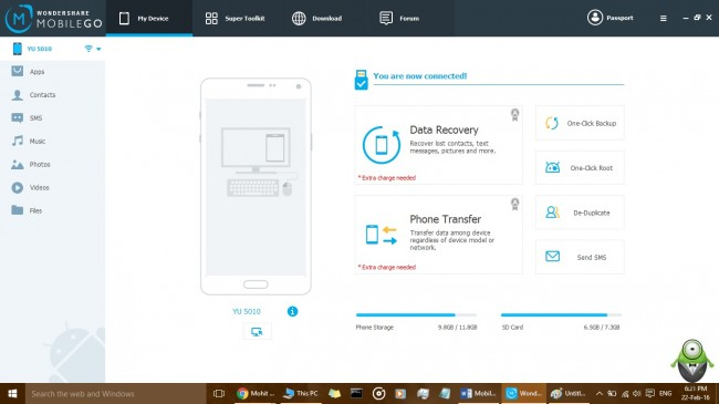 android backup step2