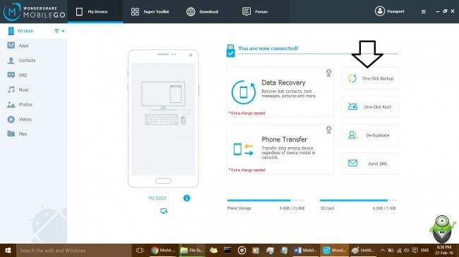 android backup step3