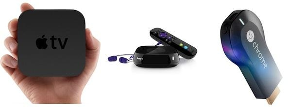 Chromecast/Apple TV/Roku
