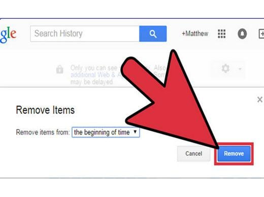 The best way to delete your browsing history and Google search history