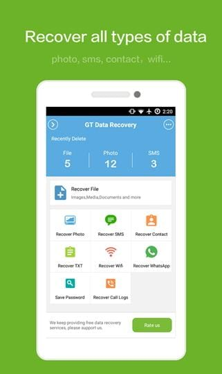 5 Android App to help you recover deleted files