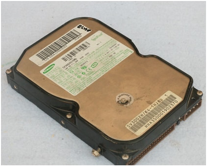 hard disk failure - replace hard disk