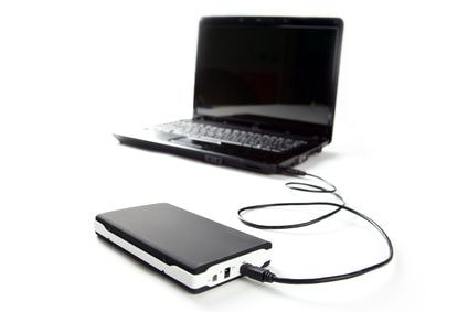Connect External hard drive to computer
