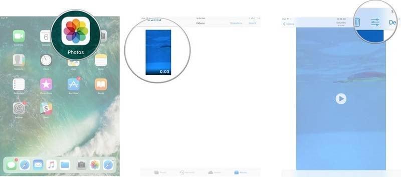 open videos iphone