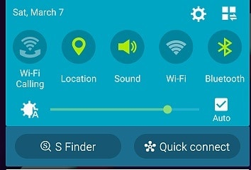android location option