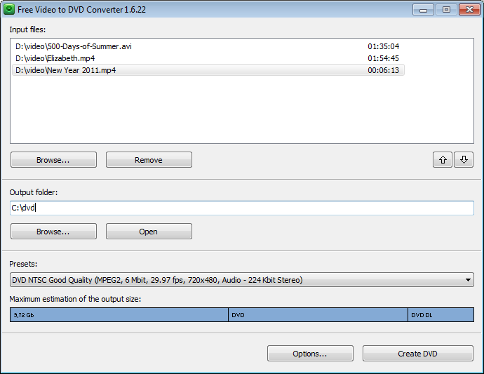 Video to DVD Converter DVD Authoring Software