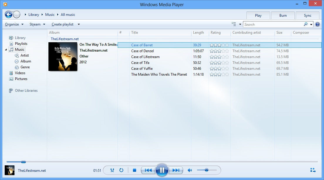 Windows Media Player for Windows 10