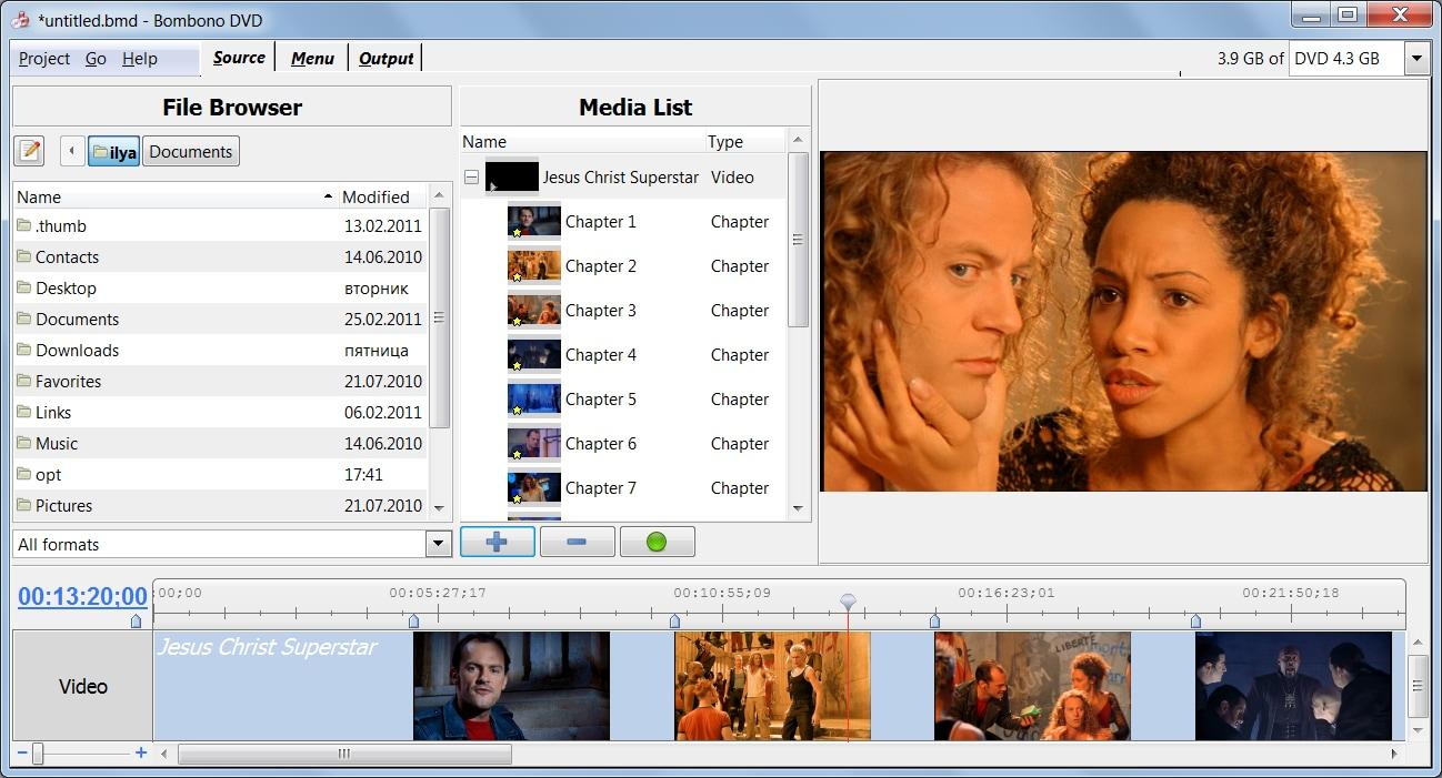 Bombono DVD DVD Authoring Software