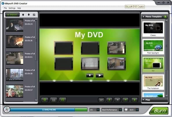 Disco DVD creator free software