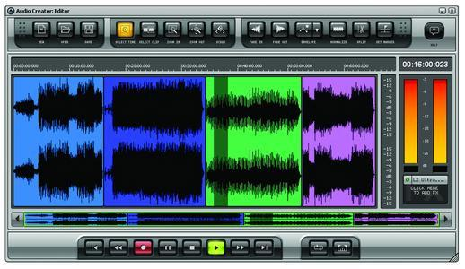 Pyro Audio Creator disc burning software