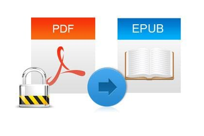 Convert Encrypted PDF EBooks