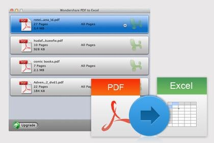 Convert PDF to Excel on Mac