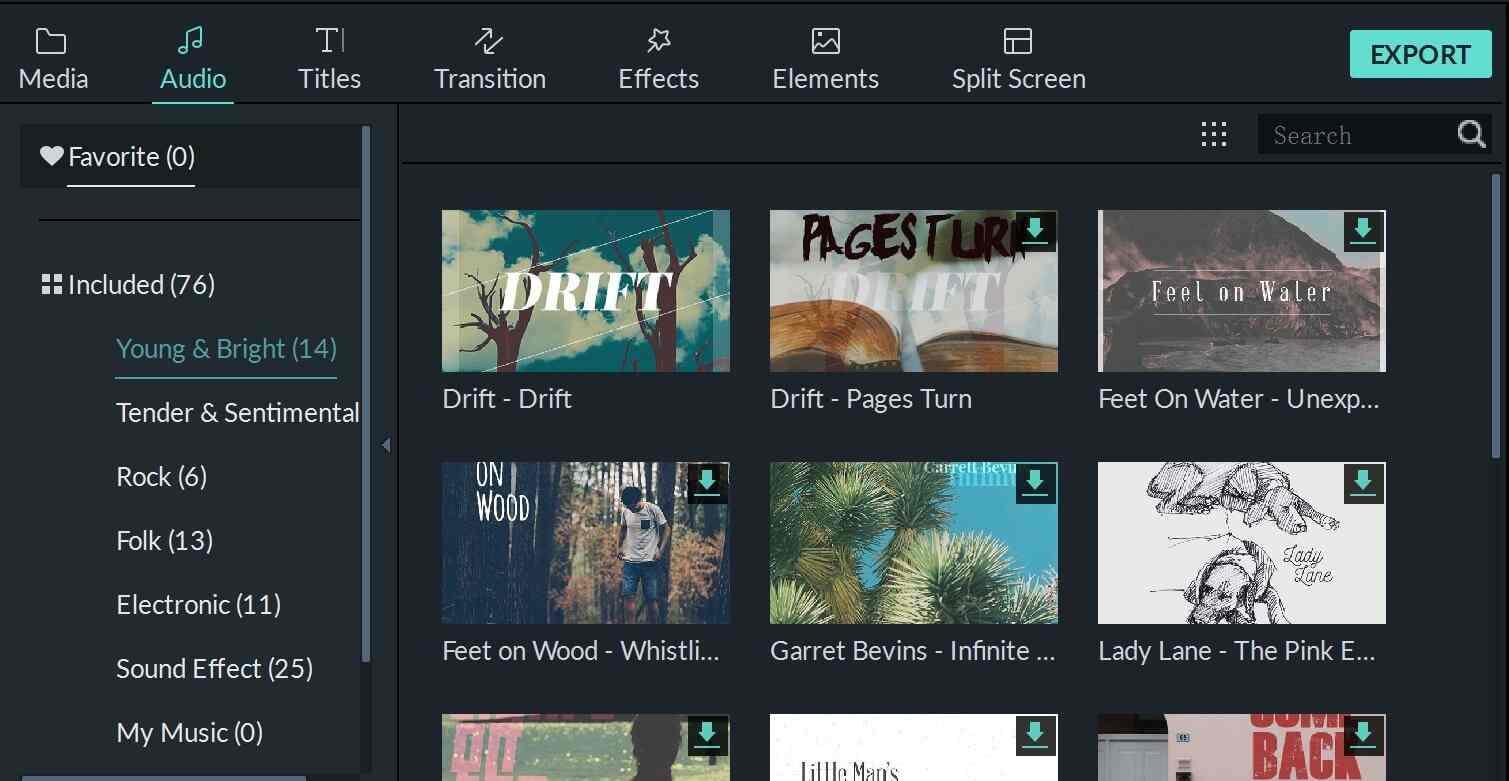 imovie  for windows  alternative audio library