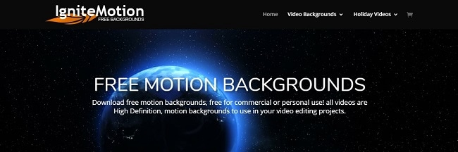 free motion backgrounds for video editing