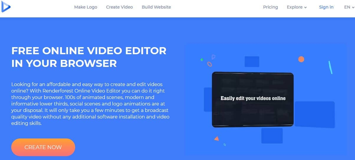 video editor online free with effects no watermark