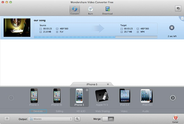 convert flash to ipad/iphone