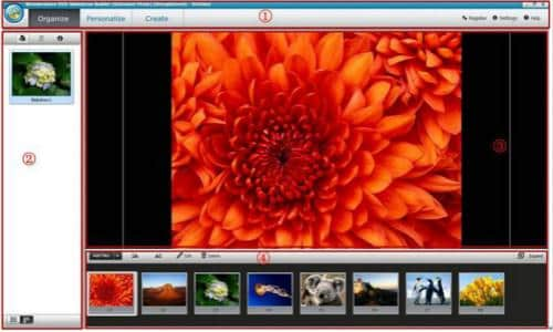 Picasa slideshow to DVD