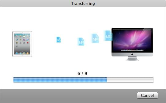 transfer ipad to mac