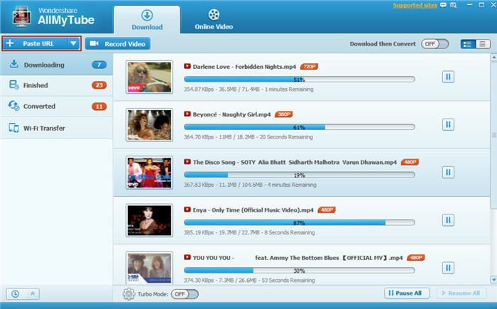 fast movie downloader software