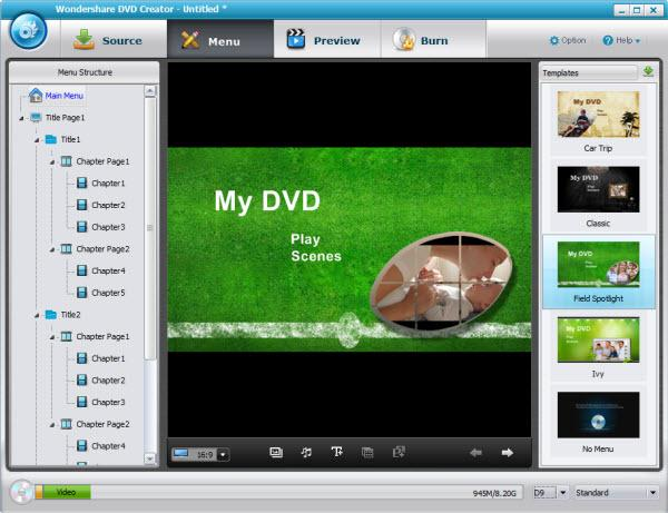 add mpeg to dvd watch on player