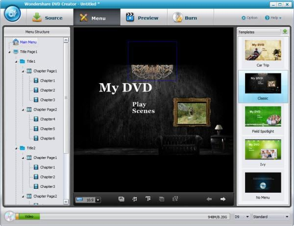 convert hd video to dvd