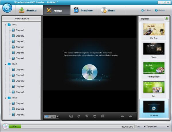 convert movies to dvd