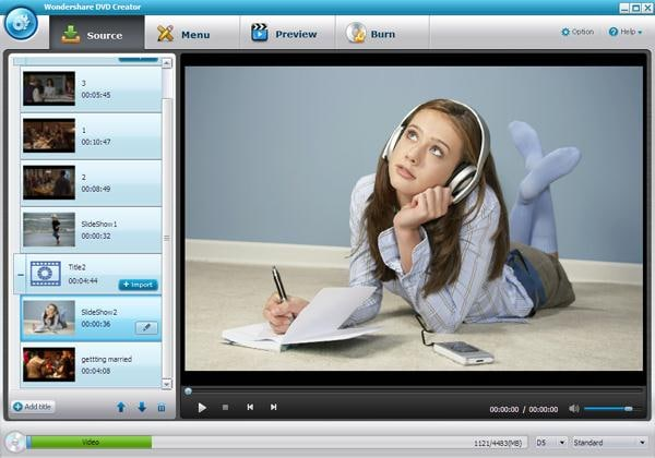 dvd creator start 5 Exactly how to Transform WMV to DVD