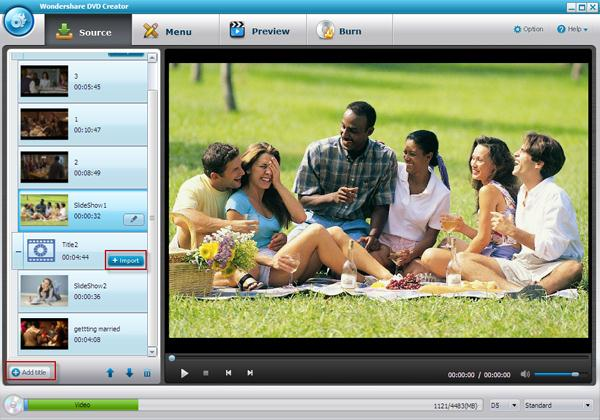 windows dvd maker for xp interface