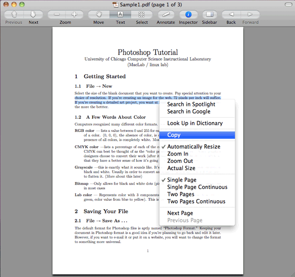 Ways to Save PDF as Word in Mac