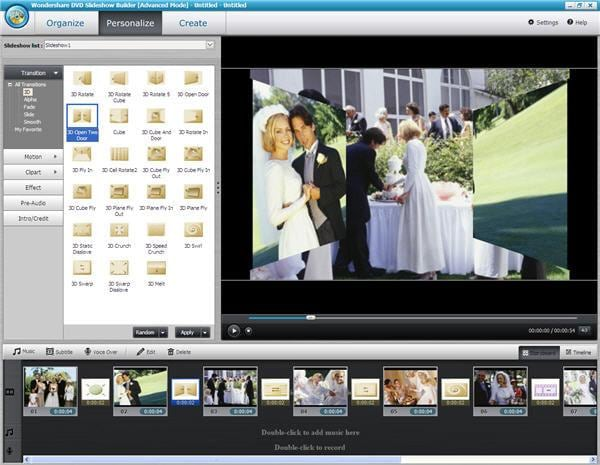 wedding slideshow maker
