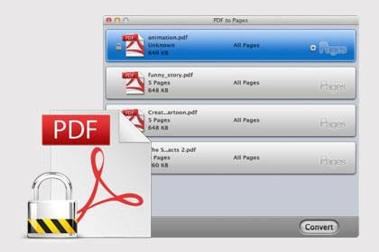 how to separate pages of pdf mac