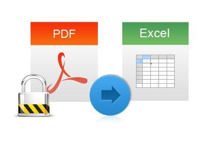 Convert Encrypted PDF Tables
