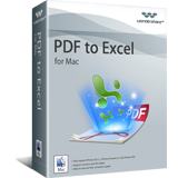 Wondershare PDF to Excel for Mac