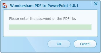 Wondershare PDF to PowerPoint Converter Screenshot