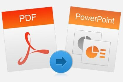 Convert PDF to PowerPoint Accurately