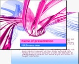 art ppt template