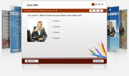 Customizable Quiz Templates