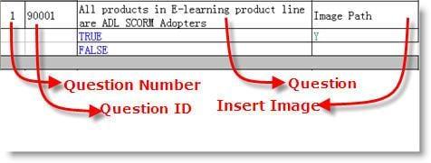 create quizzes - insert image