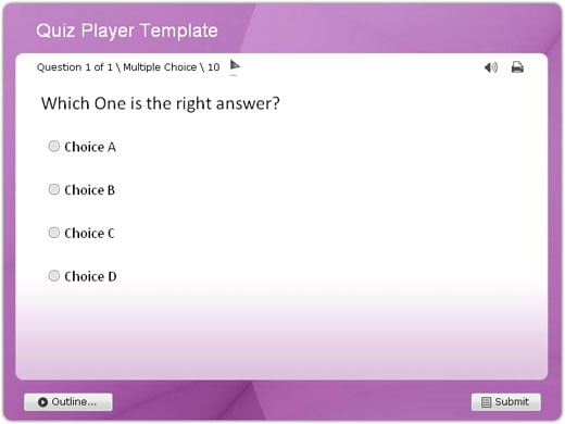 Download Quiz/Survey Player Templates for Wondershare QuizCreator