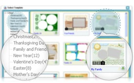 Choose from Premade Templates & Layouts for All Occasions