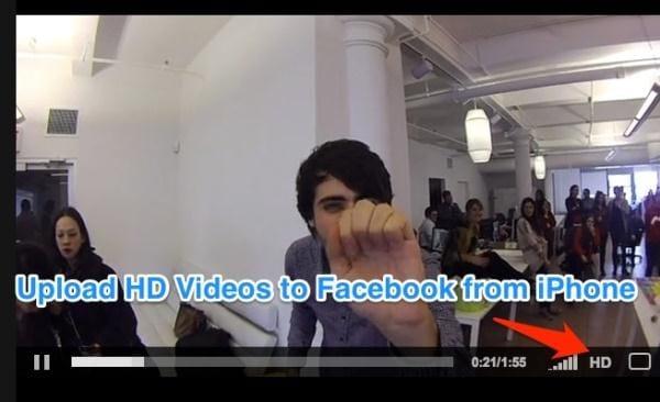 hd video on facebook