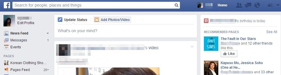 upload facebook video