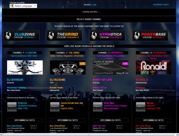 VirtualDJ Radio