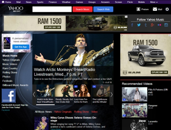 Yahoo! Music Radio