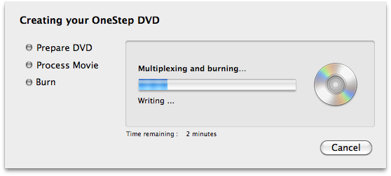 How to create DVD from mp4 in iDVD
